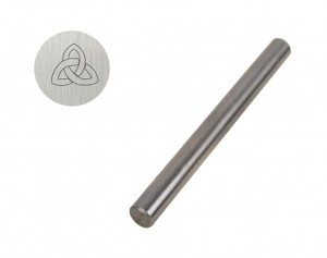 "3/8"" Steel Triquetra Celtic Knot Stamp"