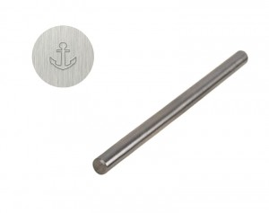"1/8"" 3 mm Steel Anchor Stamp"