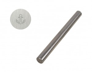 "3/16"" 5 mm Steel Anchor Stamp"