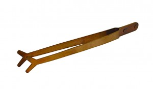 "9"" Copper Pickling Fishtail Style Tip Tweezer/Tongs"