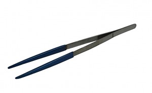 "10"" PVC Coated Ultrasonic Steam Cleaning Tweezers"