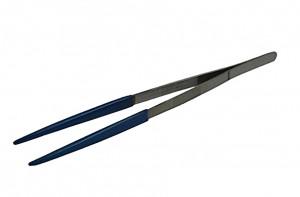 "12"" Ultrasonic Steam Cleaning Tweezers w/ PVC Tips"