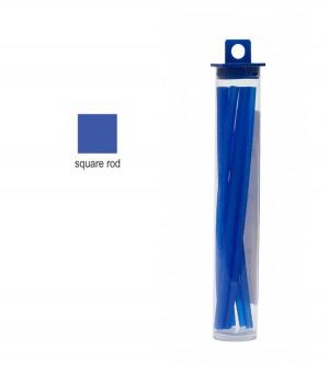 Cowdery Square Rod - 3.0 mm Blue
