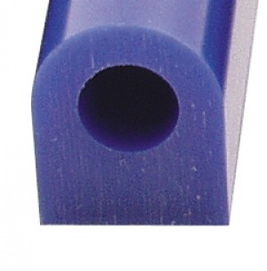 Wax Ring Tube - Blue Large Flat Side (FS-5)