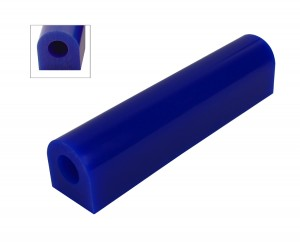 Wax Ring Tube - Blue Extra Large Flat Side (FS-7)