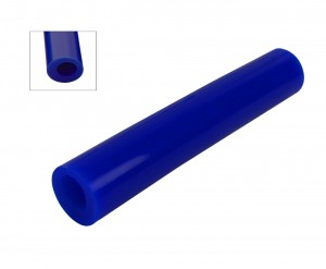 Wax Ring Tube - Blue Large Round Off-Center Hole (ROC-3)