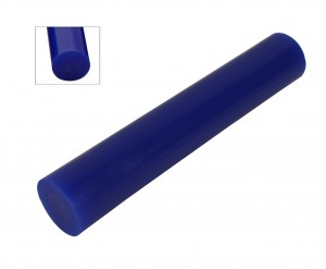 Wax Ring Tube - Blue Large Round Solid (RS-3)