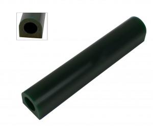 Wax Ring Tube - Dark Green Small Flat Side (FS-1)