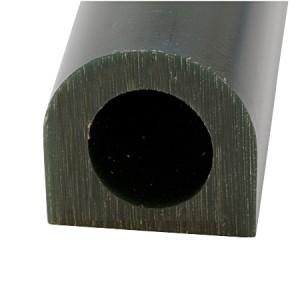 Wax Ring Tube - Dark Green Medium Flat Side (FS-3)
