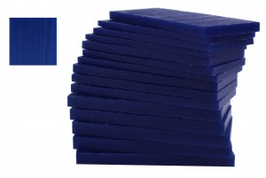 Medium-Hard 1/2 Lb Blue Carving Wax
