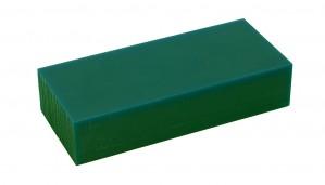 Hard 1 Lb Dark Green Wax Carving Block