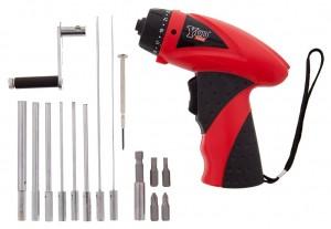 Quick Coiler Set w/ 8 Standard Mandrels and Drill