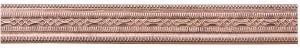3' Copper Pattern Wire - Mini Beaded 16 Gauge