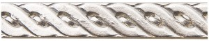 3' Nickel Silver Pattern Wire - Rope 20 Gauge