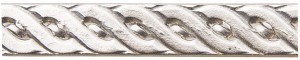 "8"" Sterling Silver Pattern Wire - Rope 20 Gauge"