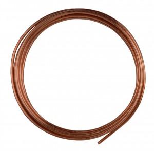 10' Round Dead Soft Copper Wire - 10 Gauge