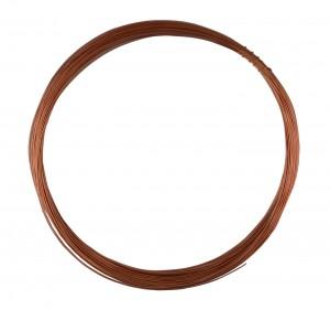 50' Round Dead Soft Copper Wire - 26 Gauge
