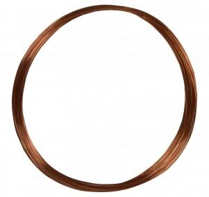 50' Round Dead Soft Copper Wire - 28 Gauge