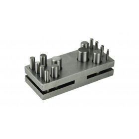 """14 Piece Circle and Round Disc Cutter Set - 1/8"""" to 5/8"""""""