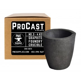 ProCast™ No 3 - 4 Kg Clay Graphite Foundry Crucible