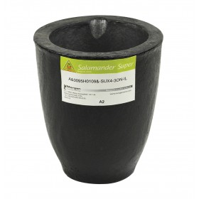 A2 - 2.5 Kg Salamander Super Clay Graphite Crucible