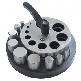 Large Circle Disc Cutter Set with 10 Punches