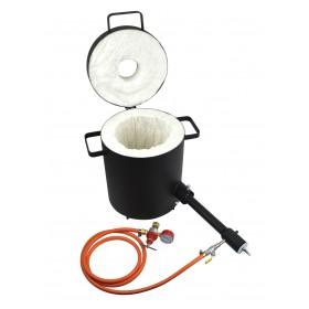 10 Kg Propane Metal Melting Foundry Furnace Light-Duty
