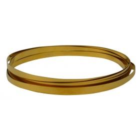 32 Gauge Red Brass Bezel Wire - 10 Feet