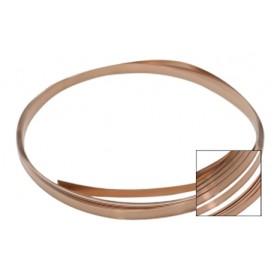 26 Gauge Copper Bezel Wire - 10 Feet