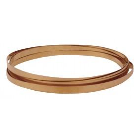32 Gauge Copper Bezel Wire - 10 Feet
