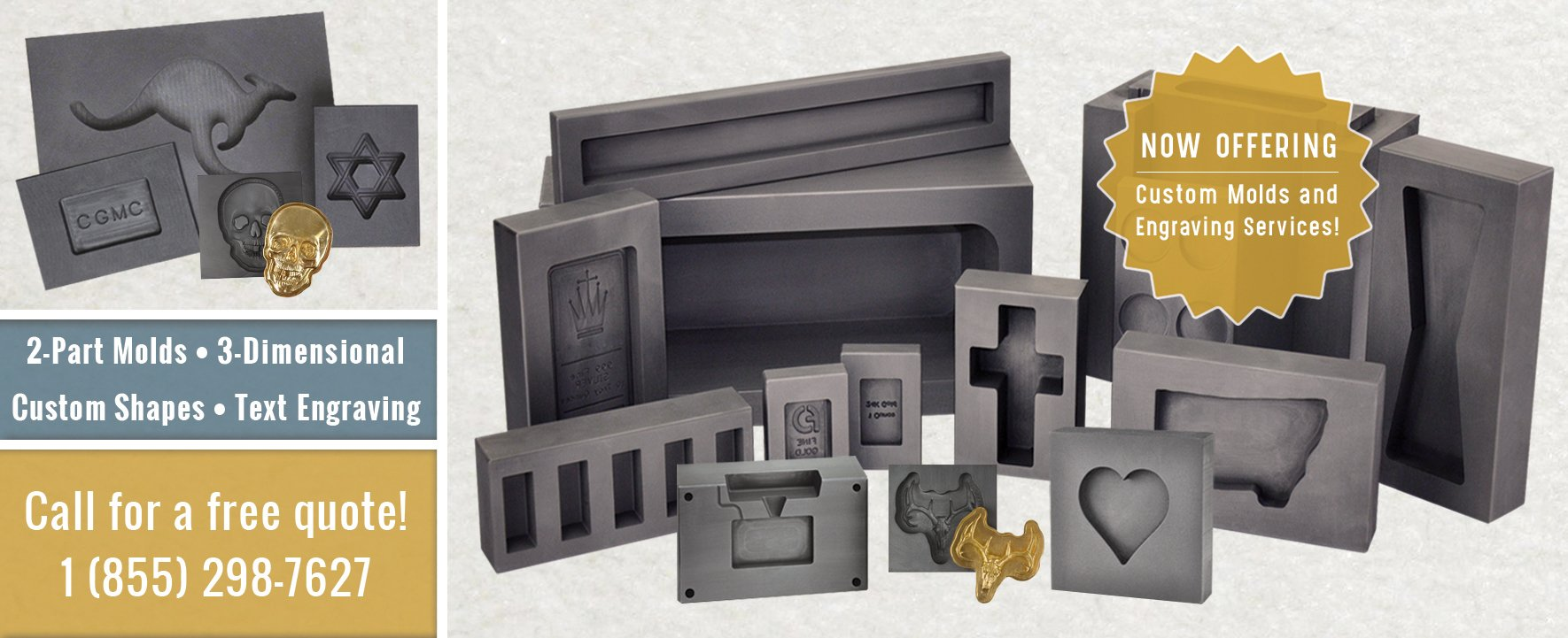 Metal Casting Supplies | PMCSupplies com | PMC Supplies
